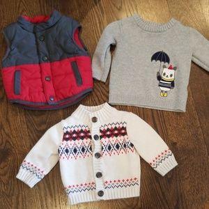 3 piece sweater set